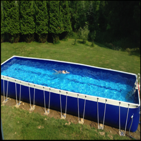 Affordable lap pool for personal training