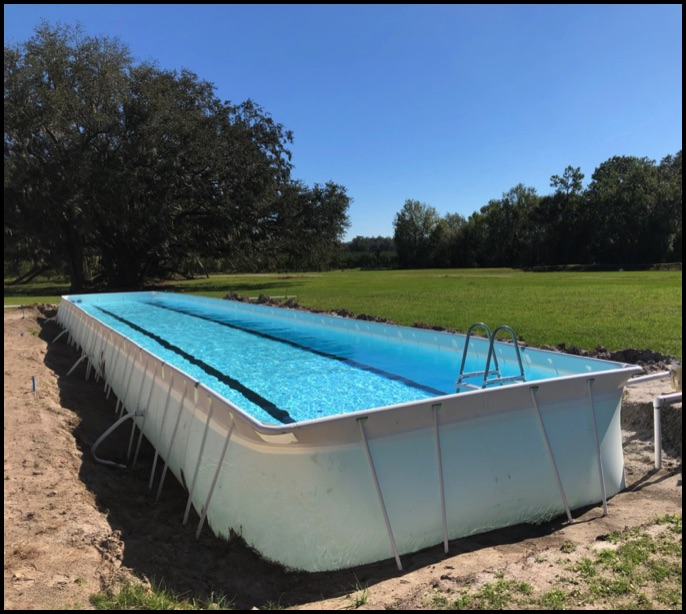 EZ Portable Lap Pools are the Right Choice